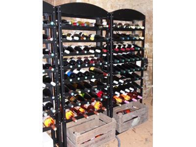 casiers bouteilles acier accueil casiers bouteilles. Black Bedroom Furniture Sets. Home Design Ideas